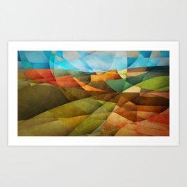 Schnebly Hill, Sedona Art Print