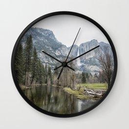 Sentinel Falls Wall Clock