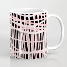 Net Blush on Black Coffee Mug