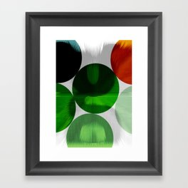 SEND IT UP Framed Art Print