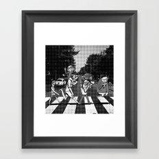 SCABBY RD. Framed Art Print