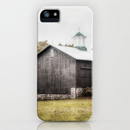 The Grey Barn iPhone Case