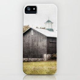 The Grey Barn iPhone Case