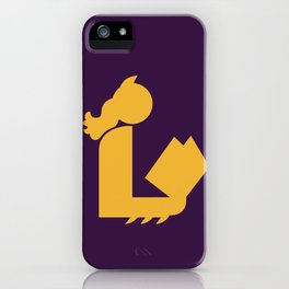 Lady Bat Reads iPhone Case