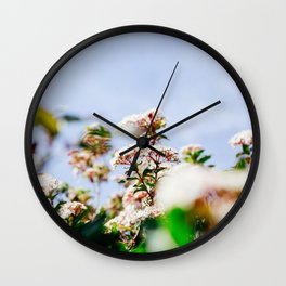 Flower Photography by Kumiko SHIMIZU Wall Clock