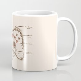 Controller Map Coffee Mug