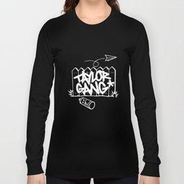 Taylor Gang T Shirt Wiz Khalifa Paper Planes Weed Hip Hop T-Shirts Long Sleeve T-shirt