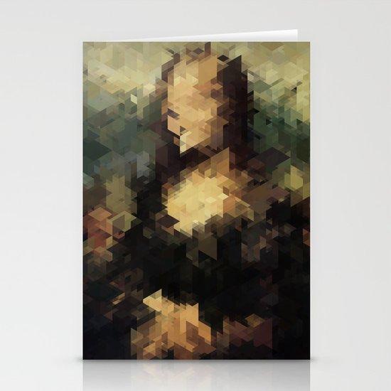 Panelscape Iconic - Mona Lisa Stationery Cards