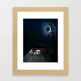 Super Exceed Camper Framed Art Print