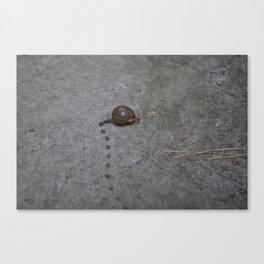 Marcel Running Canvas Print