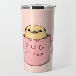 Pug of Tea Travel Mug