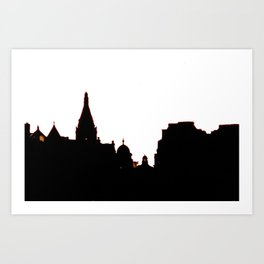 London Skyline bywhacky Art Print