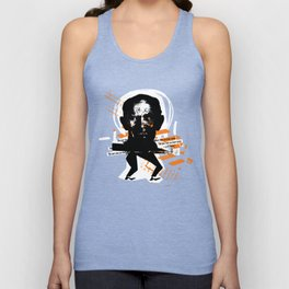 """""""the next time you hear voices..."""" Unisex Tank Top"""