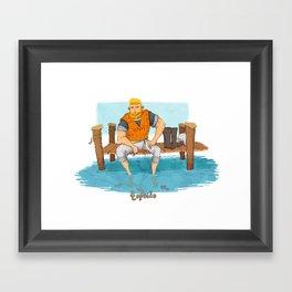Topside Framed Art Print
