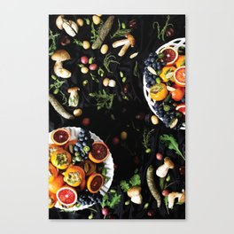 The Fall Spread  Canvas Print