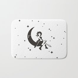The Girl Who Kills The Moon Bath Mat