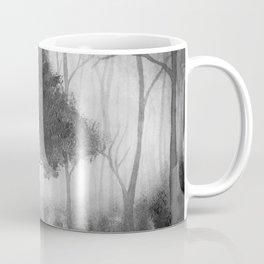 The Dark Forest (B&W) Coffee Mug