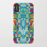 glitch iPhone & iPod Cases featuring glitch by Xenia Pirovskikh