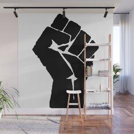 BLM Fist Wall Mural