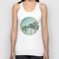palms Tank Tops featuring Palms by Laura Ruth