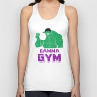 gym Tank Tops featuring gamma gym by Louis Roskosch