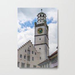 Blaserturm Ravensburg Metal Print