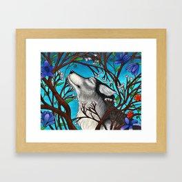 Winter Entangled By Spring Framed Art Print