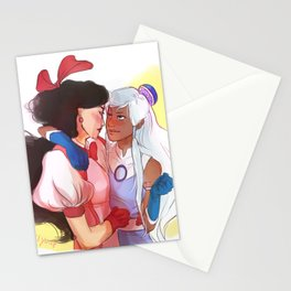 Magical Girls Stationery Cards