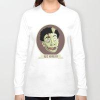 wiz khalifa Long Sleeve T-shirts featuring zombie wiz by Sneaker Pie