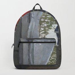 Claude Monet - The Red Kerchief.jpg Backpack