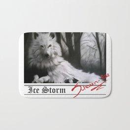 Ice Storm Bath Mat