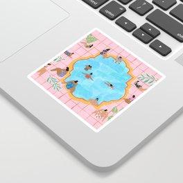 Marigold pool Sticker
