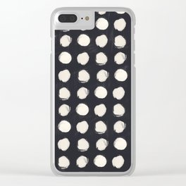 Doty's Navy Clear iPhone Case