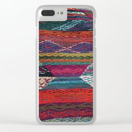 ARTERESTING V45 - Boho Traditional Moroccan Colored Design Clear iPhone Case
