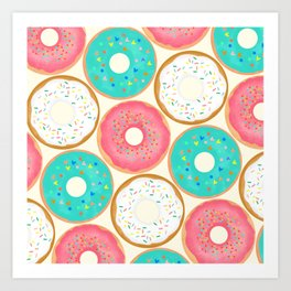 National Donut Day Art Print
