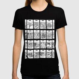 Veggie Seeds Patten - Line Art T-shirt