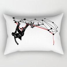 the Climber Rectangular Pillow