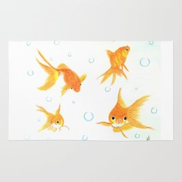 Goldfish! Rug