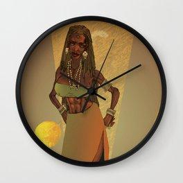 Honey's Return Wall Clock