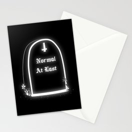 Normal At Last Stationery Cards