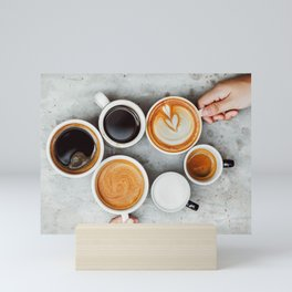 Cafe Mini Art Print