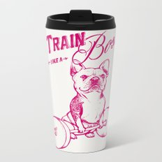 Train Like A Boss Metal Travel Mug