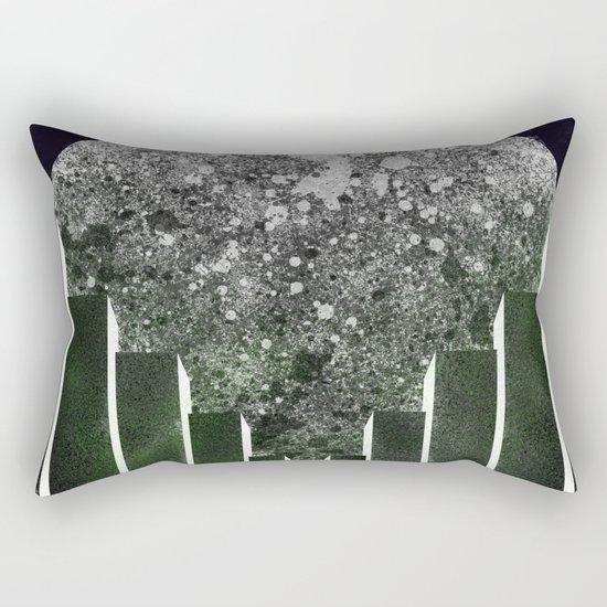 City Moon Rectangular Pillow