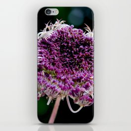 field carmine flower iPhone Skin