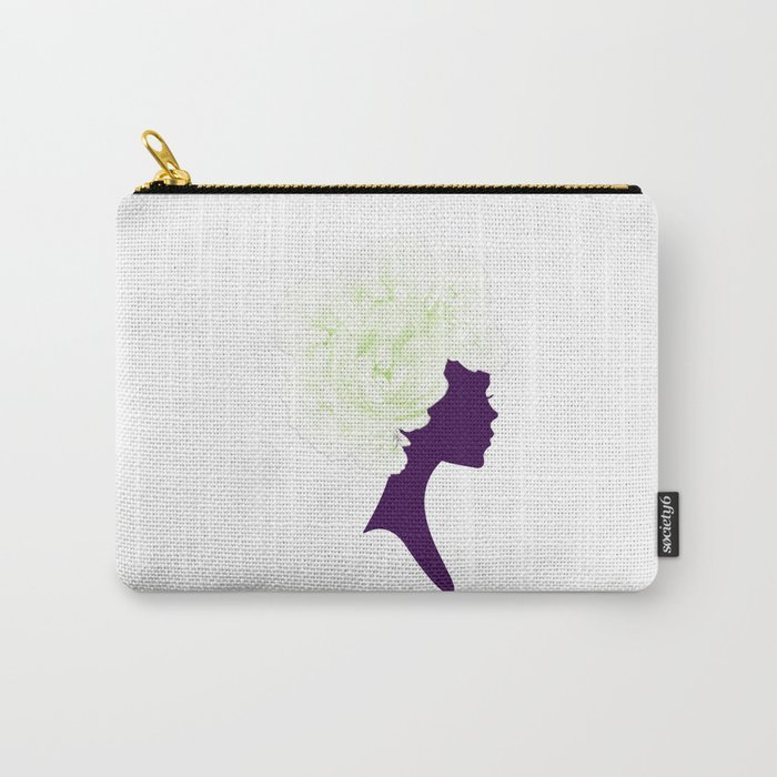 Rose Silhouette Carry-All Pouch