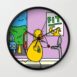 Fitness Duck Wall Clock