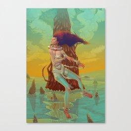 Sirens Song Canvas Print