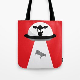 Space Cows Tote Bag