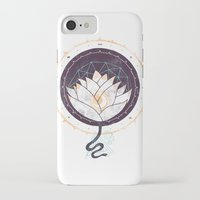 lotus iPhone & iPod Cases featuring Lotus by Hector Mansilla