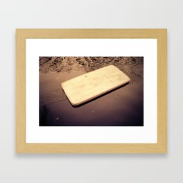 mattresses (yea but does it float) Framed Art Print